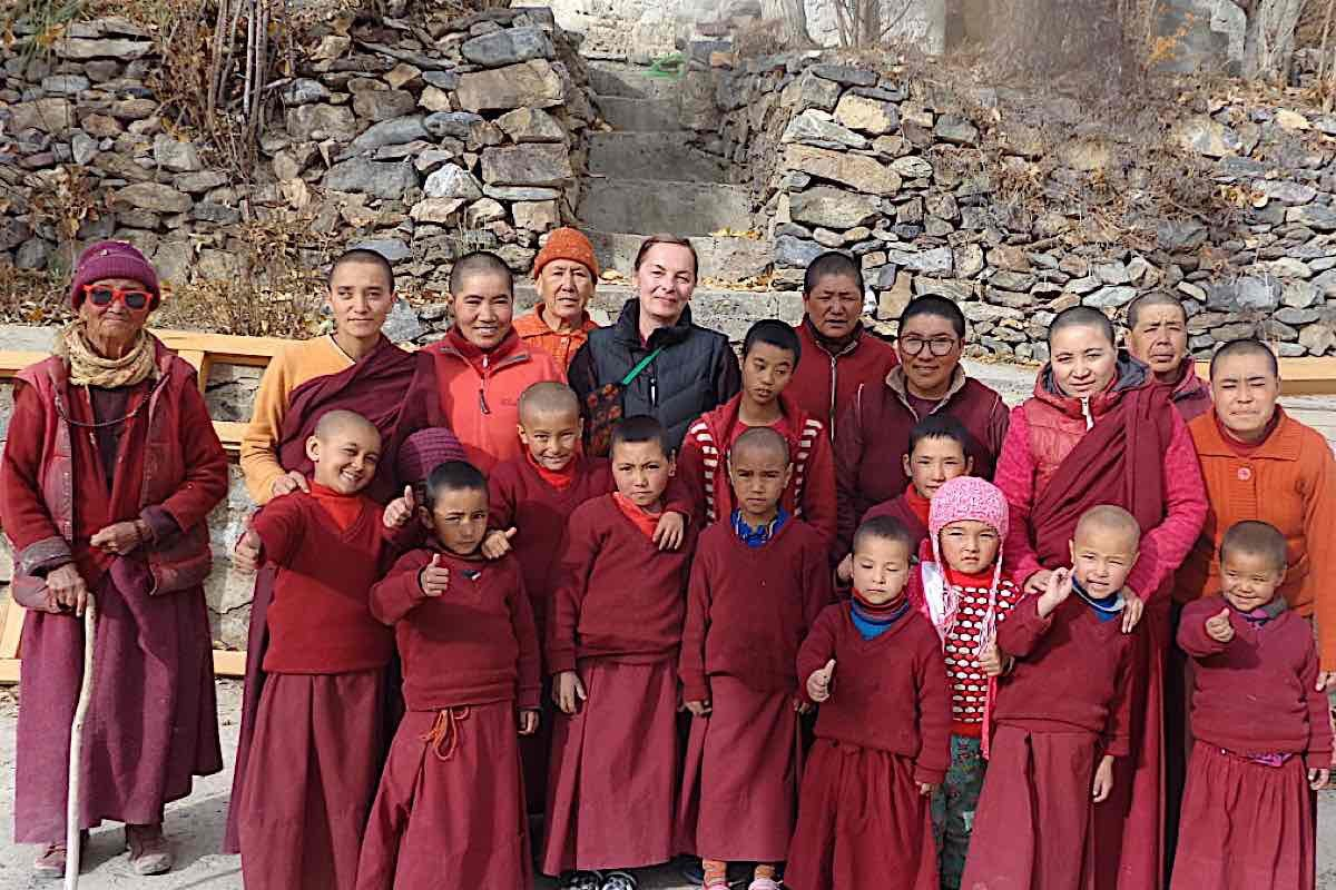 Buddha-Weekly-Irina and the nuns of Zanskar-Buddhism
